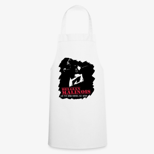 Malinois Schutzdienst Herrenshirt - Kochschürze