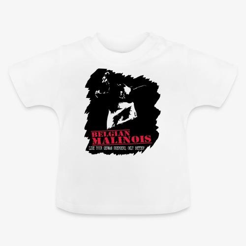 Malinois Schutzdienst Herrenshirt - Baby T-Shirt