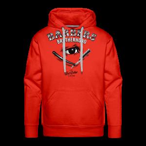 Barbers Brotherhood - Sweat-shirt à capuche Premium pour hommes