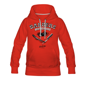 Barbers Brotherhood - Sweat-shirt à capuche Premium pour femmes