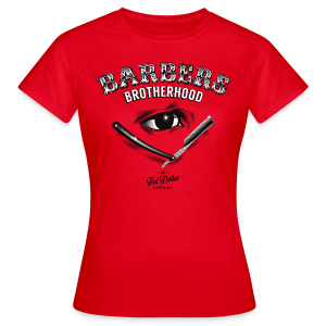 Barbers Brotherhood - T-shirt Femme