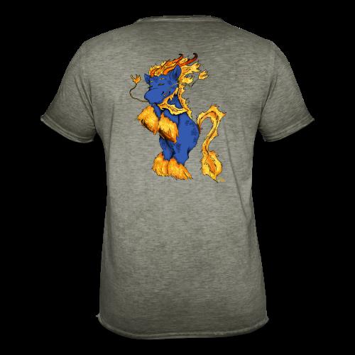 Qilin / Kirin - Männer Vintage T-Shirt