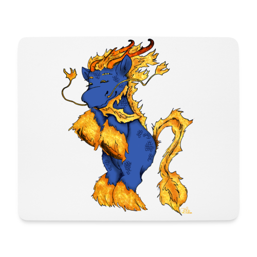 Qilin / Kirin - Mousepad (Querformat)