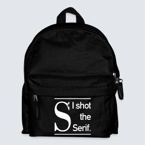 I shot the Serif / white