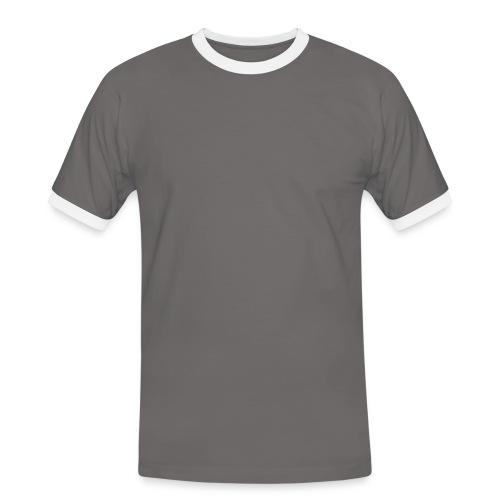 Hot Hoodie - Kontrast-T-shirt herr