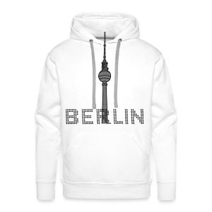 Berlin TV Tower 2 T-Shirts - Men's Premium Hoodie