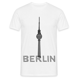 Berlin TV Tower 2 T-Shirts - Men's T-Shirt
