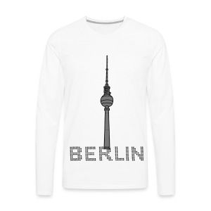 Berlin TV Tower 2 T-Shirts - Men's Premium Longsleeve Shirt