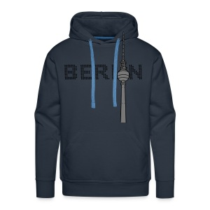 Berlin TV Tower 2 Hoodies & Sweatshirts - Men's Premium Hoodie