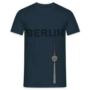 Berlin TV Tower 2 Hoodies & Sweatshirts - Men's T-Shirt