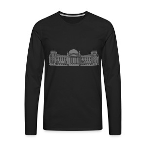 Reichstag building Berlin 2 Hoodies & Sweatshirts - Men's Premium Longsleeve Shirt