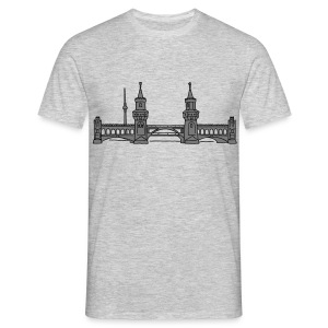 Oberbaum Bridge in Berlin 2 T-Shirts - Men's T-Shirt
