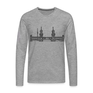 Oberbaum Bridge in Berlin 2 T-Shirts - Men's Premium Longsleeve Shirt