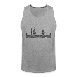 Oberbaum Bridge in Berlin 2 T-Shirts - Men's Premium Tank Top
