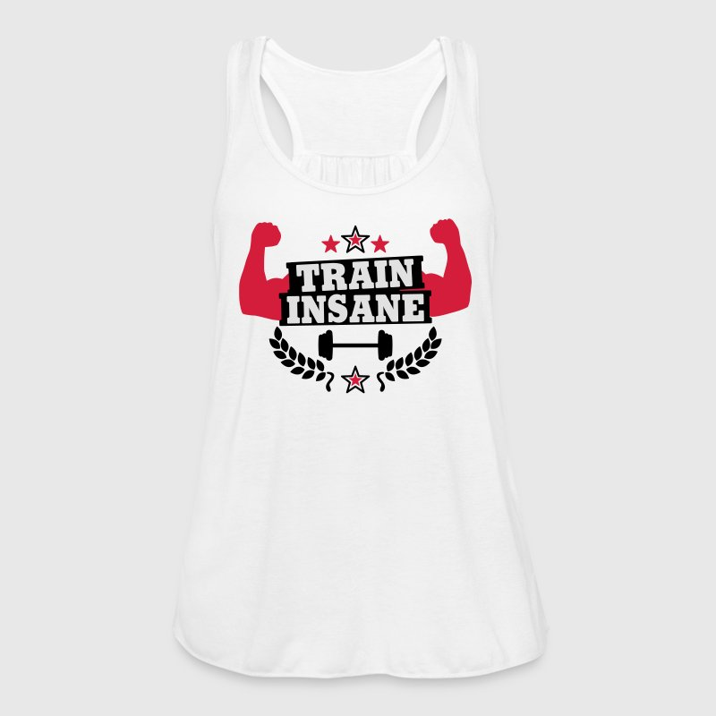 Train insane Tops - Frauen Tank Top von Bella