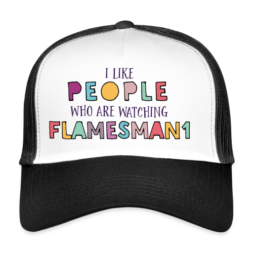 i-Like-people (unisex) - Trucker Cap