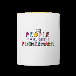 i-Like-people (unisex) - Tofarvet krus