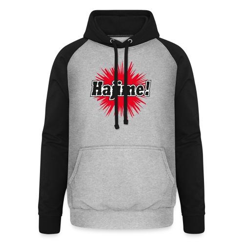 Hajime! - Unisex Baseball Hoodie