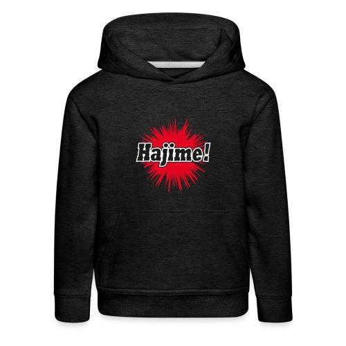 Hajime! - Kinder Premium Hoodie