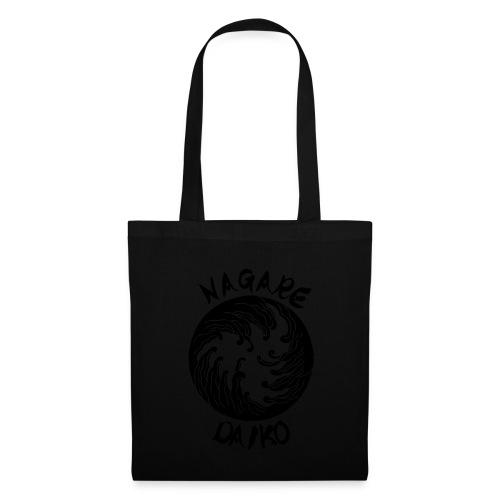 Nagare Daiko Logo Plüschbär Lasertransfer - Stoffbeutel