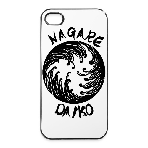 Nagare Daiko Logo Plüschbär Lasertransfer - iPhone 4/4s Hard Case