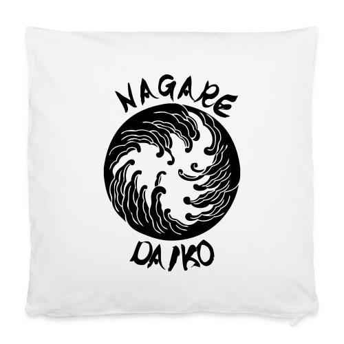 Nagare Daiko Logo Plüschbär Lasertransfer - Kissenbezug 40 x 40 cm