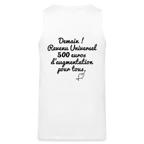 Revenu Universel ? Tee shirts - Débardeur Premium Homme