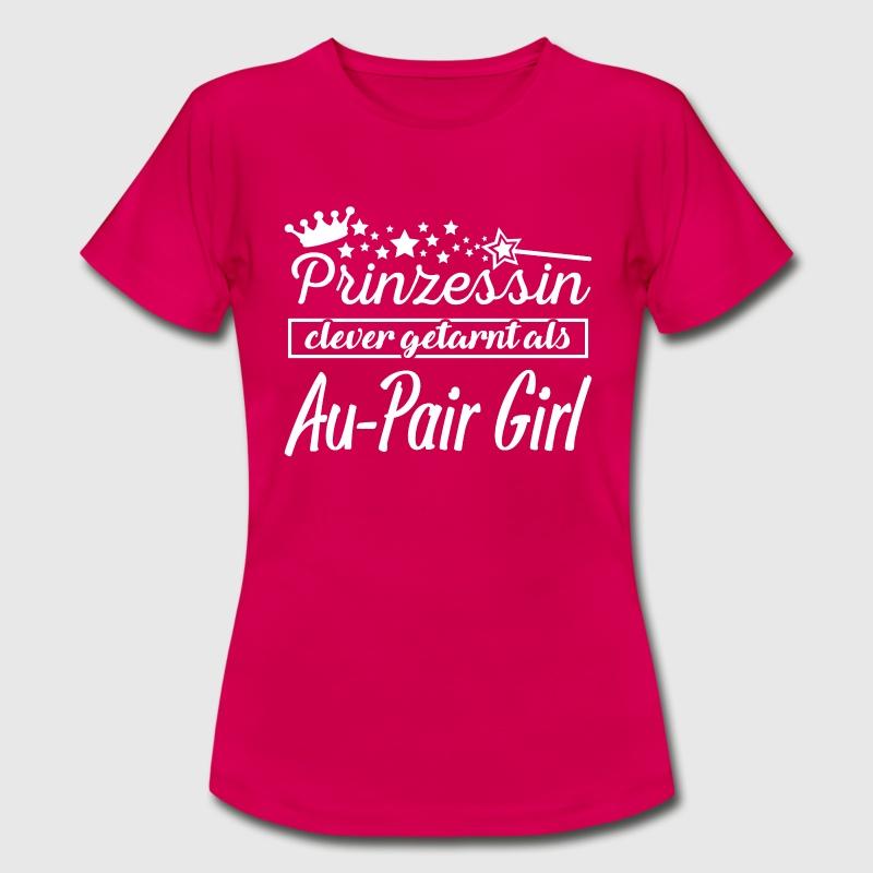 au-pair girl T-Shirts - Frauen T-Shirt