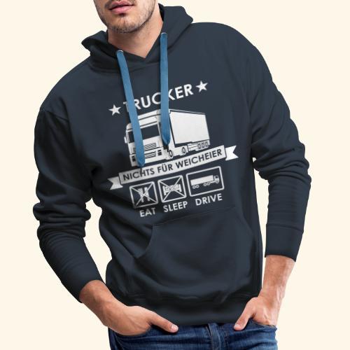 Ideen für Trucker - Männer Premium Hoodie