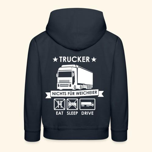 Ideen für Trucker - Kinder Premium Hoodie