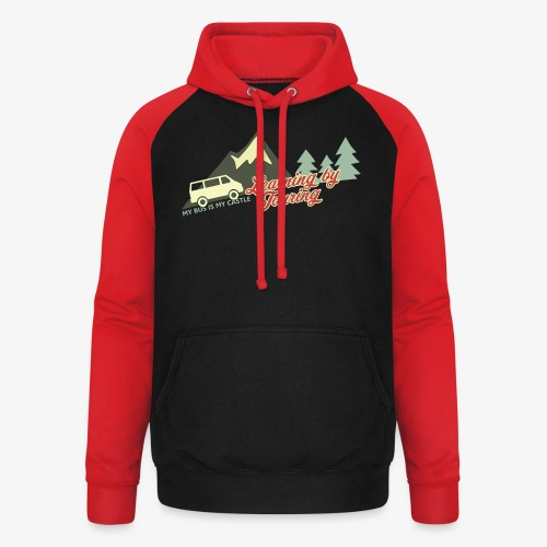 Learning by Touring - Unisex Baseball Hoodie