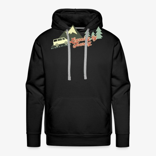 Learning by Touring - Männer Premium Hoodie