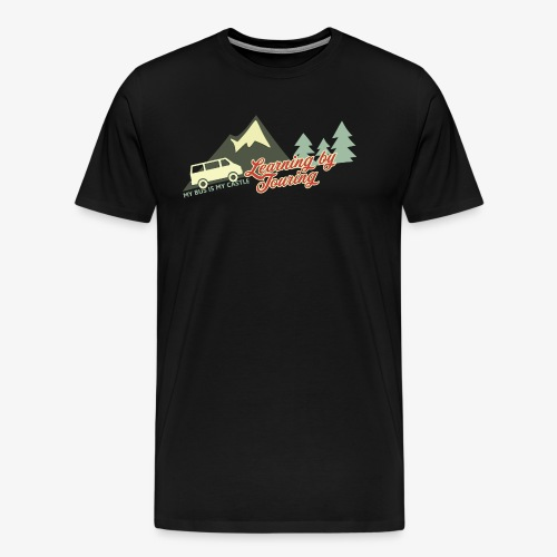 Learning by Touring - Männer Premium T-Shirt