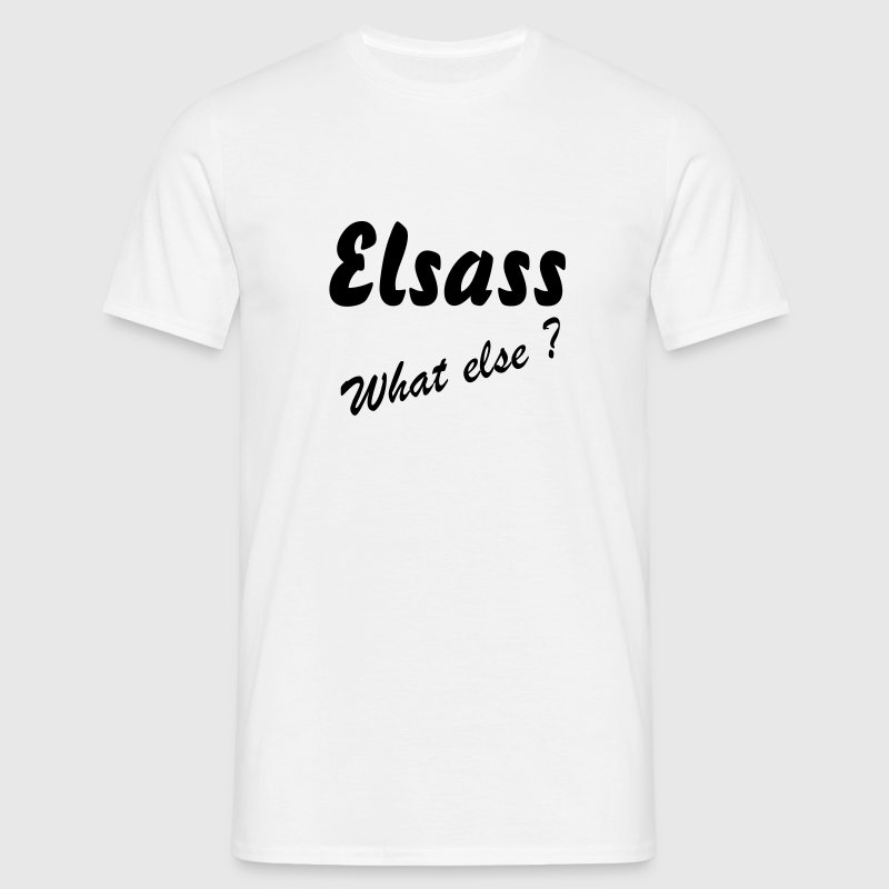 Elsass What Else TS H B&C - T-shirt Homme