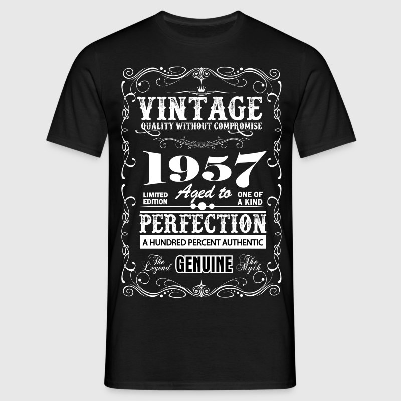 Premium Vintage 1957 Aged To Perfection T-Shirts - Men's T-Shirt