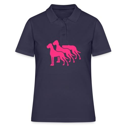 Leuchtet im Dunkeln nach - Frauen Polo Shirt