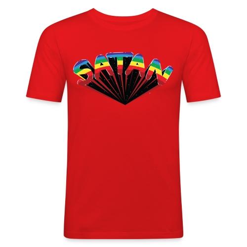 Tee satan - T-shirt près du corps Homme