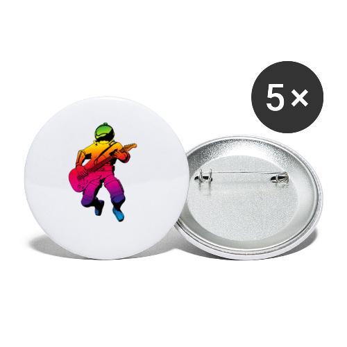 st000287 - Confezione da 5 spille piccole (25 mm)