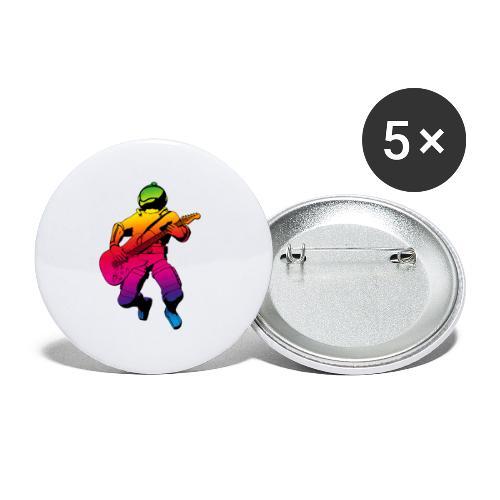 st000288 - Confezione da 5 spille grandi (56 mm)