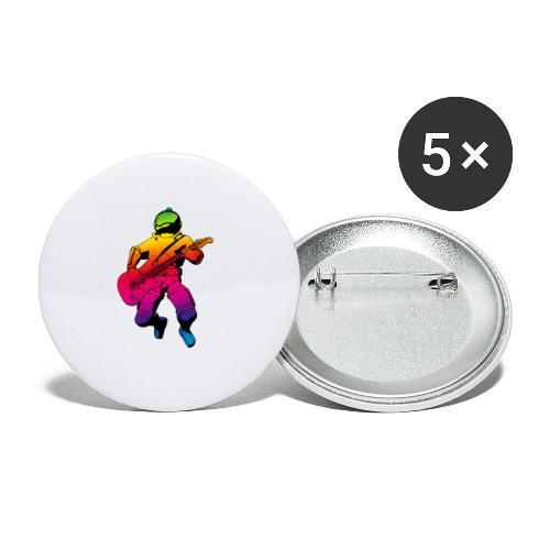 st001099 - Confezione da 5 spille media (32 mm)
