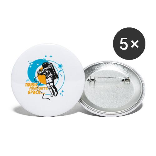 st001100 - Confezione da 5 spille piccole (25 mm)
