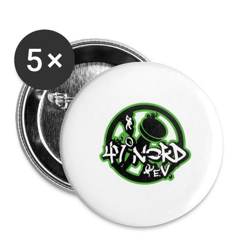 47°Nord Hot Pot - Buttons klein 25 mm (5er Pack)