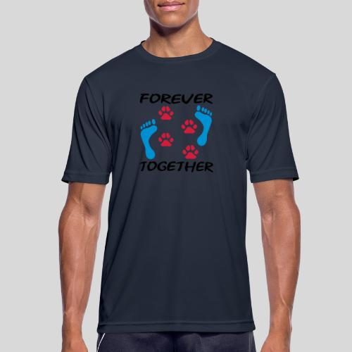 Forever Together - Männer T-Shirt atmungsaktiv