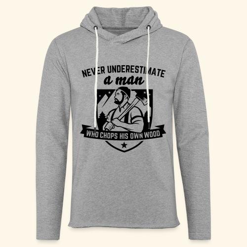 Holzfäller - Leichtes Kapuzensweatshirt Unisex