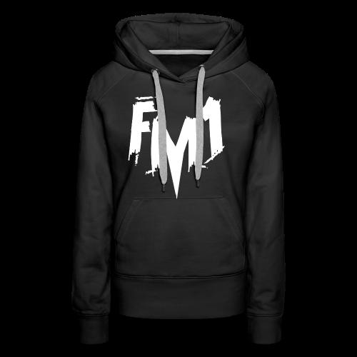 FM1 - Punky (unisex) - Dame Premium hættetrøje