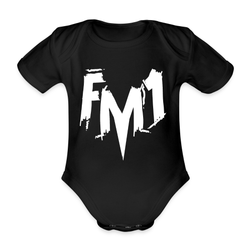FM1 - Punky (unisex) - Kortærmet babybody, økologisk bomuld