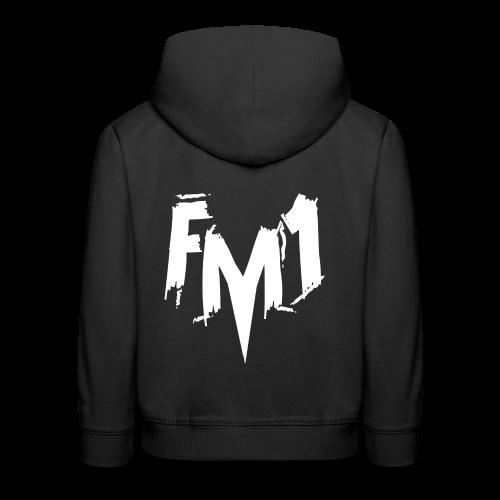 FM1 - Punky (unisex) - Premium hættetrøje til børn
