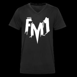 FM1 - Punky (unisex) - Økologisk Stanley & Stella T-shirt med V-udskæring til herrer
