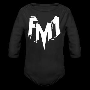 FM1 - Punky (unisex) - Langærmet babybody, økologisk bomuld