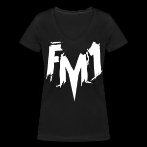 FM1 - Punky (unisex) - Økologisk Stanley & Stella T-shirt med V-udskæring til damer